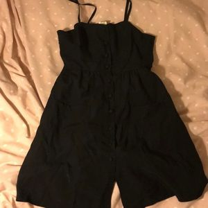 Urban outfitters mini dress front button up sz xs